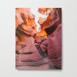 Lower Antelope Canyon, Arizona. Metal Print