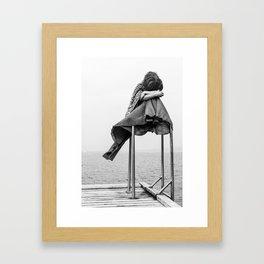 Brez naslova Framed Art Print