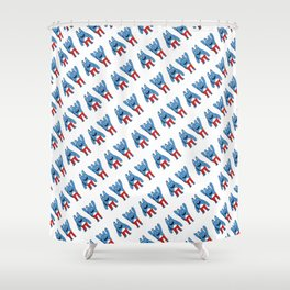 Bingo Bronson Shower Curtain