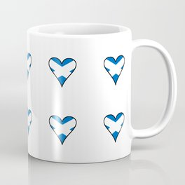 flag of scotland 3– scotland,scot,scottish,Glasgow,Edinburgh,Aberdeen,dundee,uk,cletic,celts,Gaelic Coffee Mug