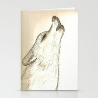 howl Stationery Cards featuring Howl by Lindzey42