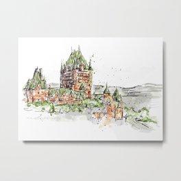 Quebec Metal Print