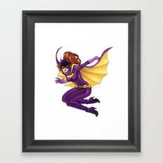 Yvonne Craig Batgirl Framed Art Print