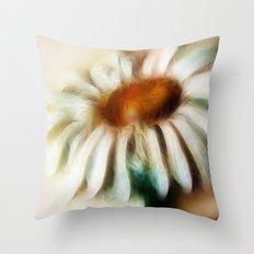 Daisy fractalius Throw Pillow