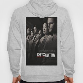 Life Changes in a Heartbeat - Grey's Anatomy Hoody