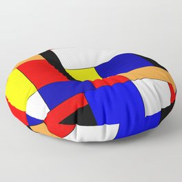 Mondrian #9 Floor Pillow