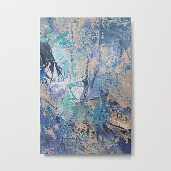 Clash of Tides (3 of 3) Metal Print