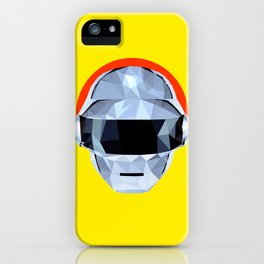 Daft Low Poly Punk iPhone Case