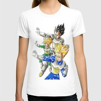 vegeta T-shirts featuring vegeta family tree by Unic art
