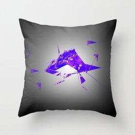 Shrapnel Of The Mind Throw Pillow
