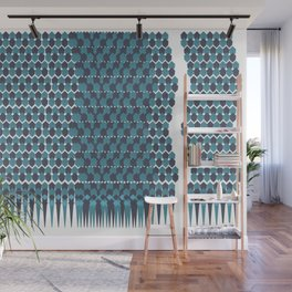 Cubist Ornament Pattern Wall Mural