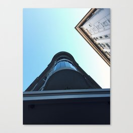 On perspective Canvas Print