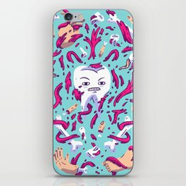 Tooth Guy iPhone Skin