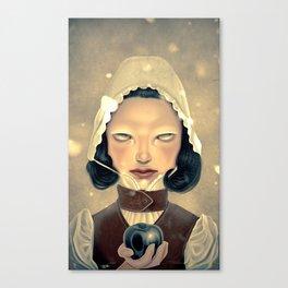Snowhite Canvas Print