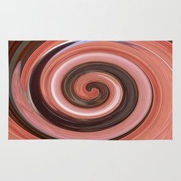 Swirl 01- Colors of Rust / RostArt Rug