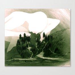 The Great Lakes Basin Canvas Print