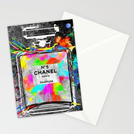 No 5 Rainbow Colors Stationery Cards