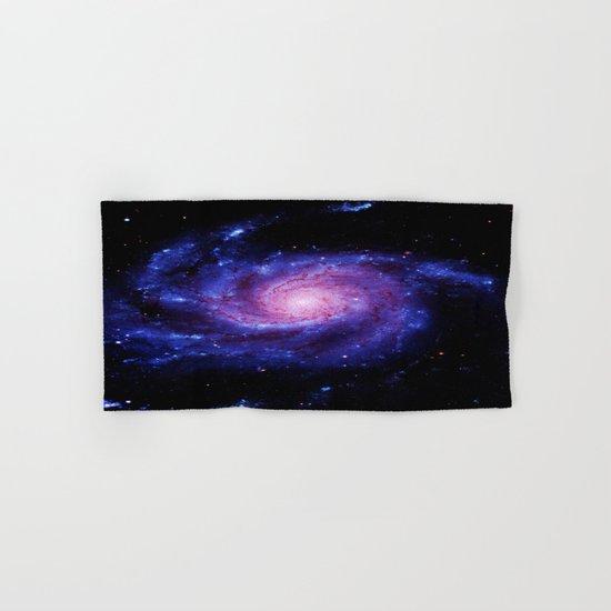 Spiral gAlAxy : Purple Blue Hand & Bath Towel