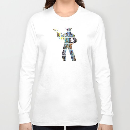 Cut StarWars Collage 10 Long Sleeve T-shirt