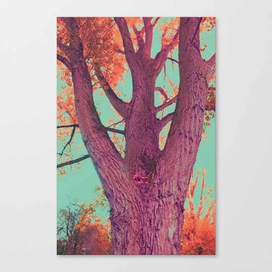 Power tree of love and life Canvas Print