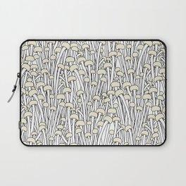 Enokitake Mushrooms (pattern) Laptop Sleeve
