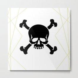 Fabulously Dead on the Inside Metal Print