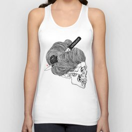 A Lady From Japan Unisex Tank Top