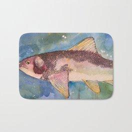 Mountain Whitefish (oddly not so white) Bath Mat