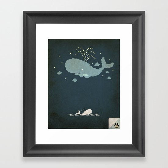 A night to remember Framed Art Print