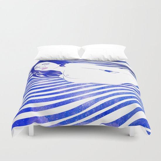 Water Nymph XIV Duvet Cover