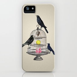 Keeper Crows iPhone Case