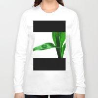 bamboo Long Sleeve T-shirts featuring bamboo by Falko Follert Art-FF77