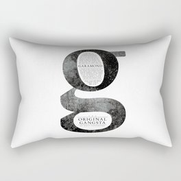 O.G. Garamond Rectangular Pillow