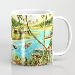 Classical African-American Masterpiece 'On Mississippi River' Coffee Mug