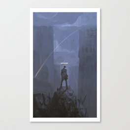 The Remnant Canvas Print