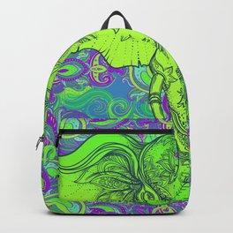 Green Ganesha Backpack