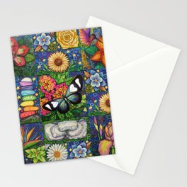 Long Wing with a Labradorite Hug Stationery Cards