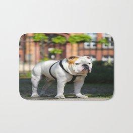 No Entry - Bulldog #decor #homedecor Bath Mat