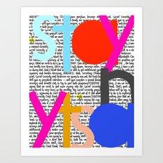 Stay Nasty Art Print