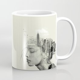 Reflection, New York City Coffee Mug