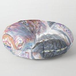 Paua Shells Negative Floor Pillow