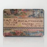 macaroons iPad Cases featuring Macaroons by drskippyart
