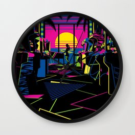 Arcade Saloon Wall Clock