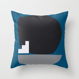 Shape study #4 - Stackable Collection Throw Pillow