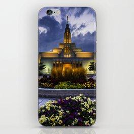 Draper Mormon Lds Temple - Utah iPhone Skin