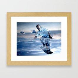 SKYSURFER Framed Art Print