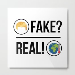 Global Warming is Real! Metal Print