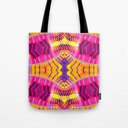 Pinky Aztec Tote Bag