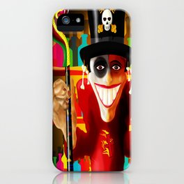 JUJU MAN iPhone Case