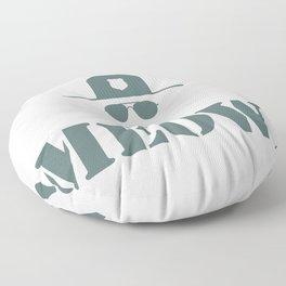 original meow! Floor Pillow
